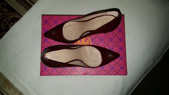 Tory Burch Wine Red borscht (color code 992) Pumps