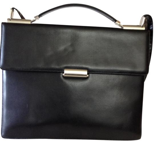 Preload https://img-static.tradesy.com/item/19089568/mandarina-duck-duplex-business-black-leather-laptop-bag-0-1-540-540.jpg