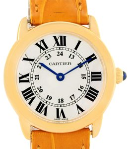 Cartier Cartier Ronde Solo Steel 18K Yellow Gold Small Ladies Watch W6700355