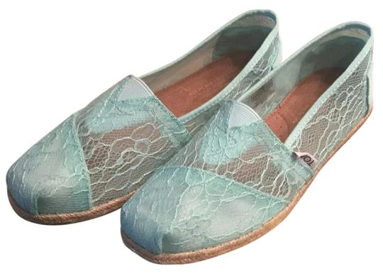 TOMS Light Blue Flats