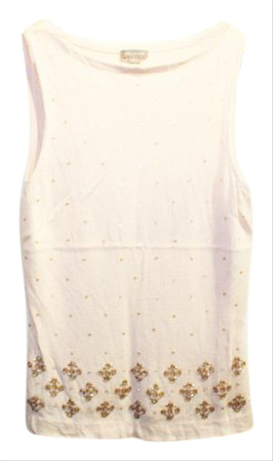 Preload https://item4.tradesy.com/images/ann-taylor-pink-woolcashmere-sequin-beaded-flowers-s-tank-topcami-size-4-s-19090003-0-1.jpg?width=400&height=650