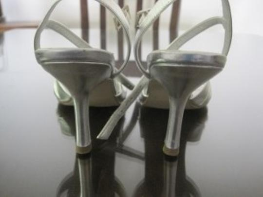 Other Stappy Bridesmaid Heel Ankle Silver Formal