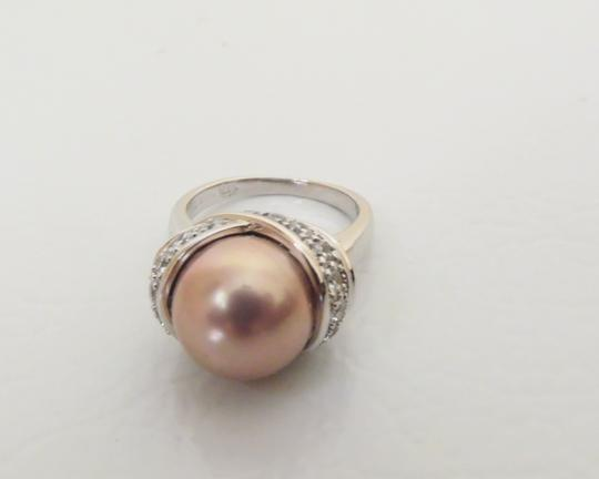 Pearlfection Pearlfection Faux Mauve South Sea Pearl Ring 7
