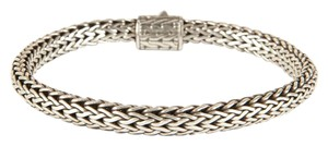 John Hardy Small Silver Classic Braided Chain Bracelet