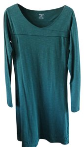 Toad&Co short dress Green Horny Toad Forest Long Sleeved on Tradesy