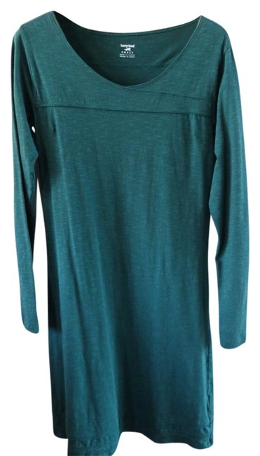 Item - Green - Above Knee Short Casual Dress Size 4 (S)