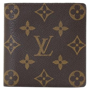 Louis Vuitton LOUIS VUITTON Monogram Canvas Porte Billets 6 Bifold Wallet M60929 Men