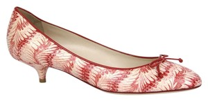 Bottega Veneta Leather Python Multi-Color Pumps