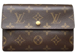 Louis Vuitton (SAME DAY SHIPPING) Long PVC Trifold Coin Case Mens Clutch Bag