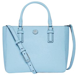 Tory Burch Tote in Iceberg (Pale Blue)