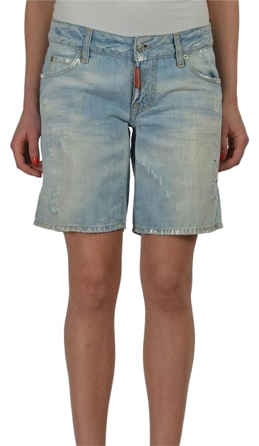 Preload https://item4.tradesy.com/images/dsquared2-blue-linen-women-s-distressed-denim-bermuda-shorts-size-00-xxs-24-19091443-0-1.jpg?width=400&height=650