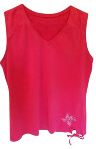 Tek Gear Tek Gear pink sleeveless multi-sport athletic top - Cotton Blend