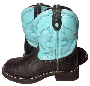 Justin Boots Jutin Cowgirl 8 Justin Cowgirl 8 Size 8 blue Boots