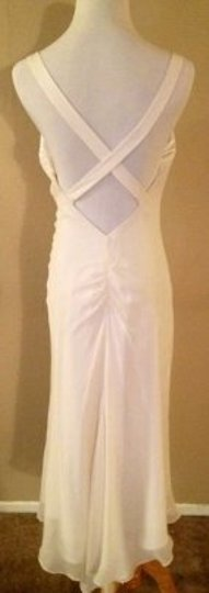 Off White Silk and Satin Flapper Style Vintage Wedding Dress Size OS (one size)
