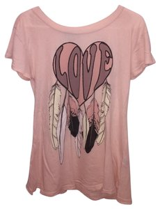 Wildfox T Shirt Pink