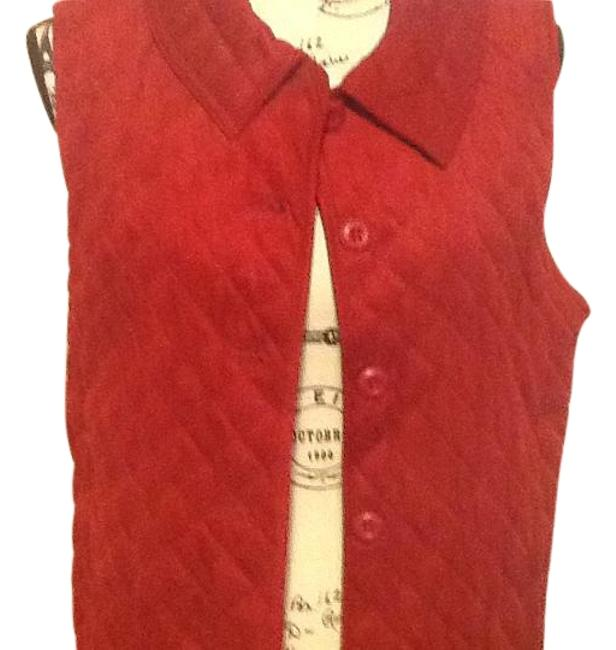 Preload https://img-static.tradesy.com/item/19091932/red-quilted-collared-vest-size-6-s-0-1-650-650.jpg