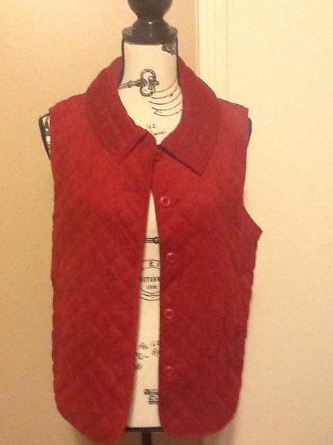 Other Collar Warm Sleeveless Pockets Vest