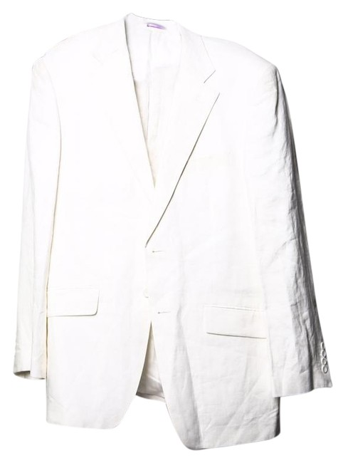 Preload https://item3.tradesy.com/images/white-mens-pant-suit-size-os-one-size-19092067-0-1.jpg?width=400&height=650