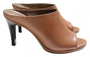 Via Neroli Dark Tan/Light Brown Mules