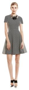 Lela Rose short dress Gray Burberry Chanel on Tradesy