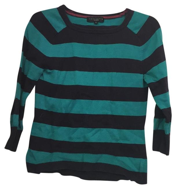 Preload https://item4.tradesy.com/images/sanctuary-green-striped-sweaterpullover-size-4-s-19092808-0-1.jpg?width=400&height=650