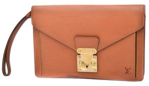 Louis Vuitton Sellier Dragonne Brown Clutch