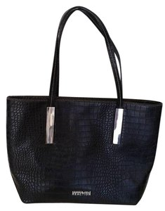 Kenneth Cole Tote in Black Croco
