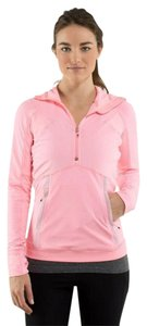 Lululemon NWT Lululemon Winter Sprinter Hoodie 4 Light Pink Long Sleeve Jacket