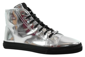 Gucci Sneaker High Top Hi Top Silver Athletic