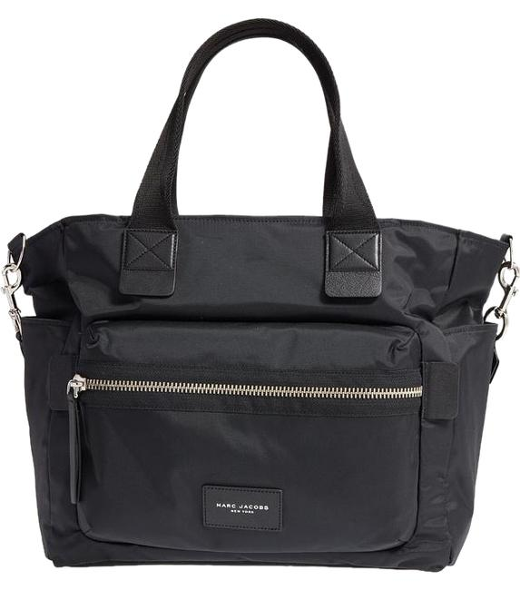 Item - Biker Black Nylon Diaper Bag