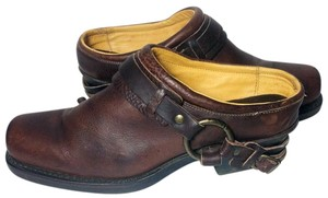 Frye 70760 Belted 9 9 Size 9 Brown Mules