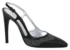 Bottega Veneta Slingback Black Sandals