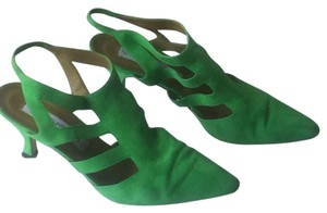 Via Spiga Green Pumps