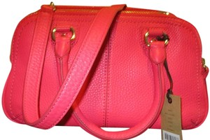 Cole Haan Leather Satchel in Pink