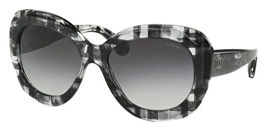 Preload https://item5.tradesy.com/images/chanel-grey-black-silver-5323-signature-butterfly-square-shaded-cc-oversized-cateye-cat-sunglasses-19094179-0-1.jpg?width=440&height=440