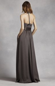 Vera Wang Charcoal Dress