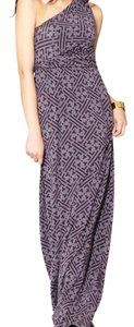 Purple Maxi Dress by Tart Maxi Empire Waist