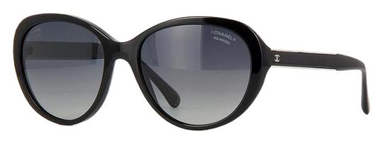 Preload https://item2.tradesy.com/images/chanel-black-silver-5269-cat-eye-cateye-oversized-cc-classic-timeless-polarized-stingray-sunglasses-19095241-0-1.jpg?width=440&height=440