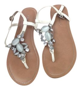 BCBGeneration White Nachetta Sandals