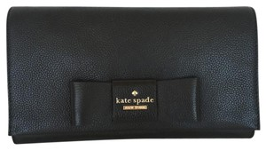 Kate Spade Evening Party Black Clutch