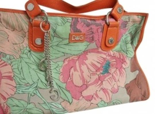 Preload https://item1.tradesy.com/images/dolce-and-gabbana-classic-new-floral-print-orange-multicolor-leather-and-canvas-tote-190965-0-0.jpg?width=440&height=440