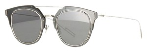 Dior Composite 1.0 Silver Mirrored Wired Sunglasses