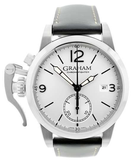 Graham & Spencer Graham Chronofighter 2CXAS.S02A Automatic Date $6450 Watch