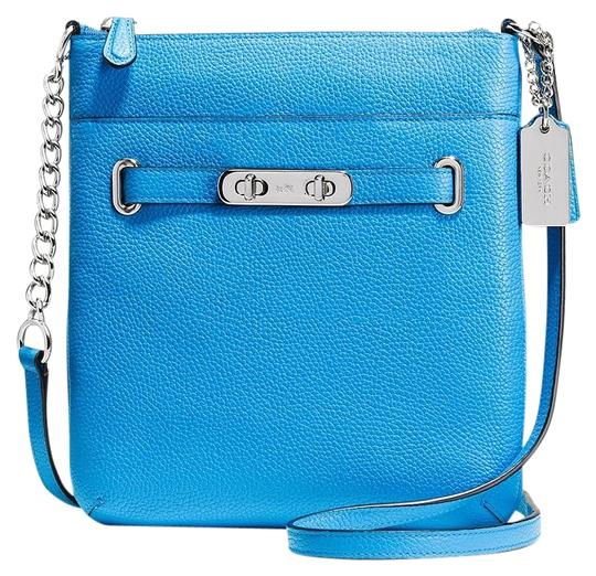 Preload https://item1.tradesy.com/images/coach-swagger-swingpack-blue-leather-cross-body-bag-19097605-0-1.jpg?width=440&height=440