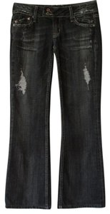 Miss Me Flare Leg Jeans-Distressed