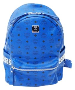 MCM Leather Studded Chic Backpack