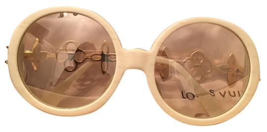 Preload https://item3.tradesy.com/images/louis-vuitton-ivory-sunglasses-19098307-0-1.jpg?width=440&height=440