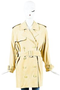 Michael Kors Suede Trench Coat