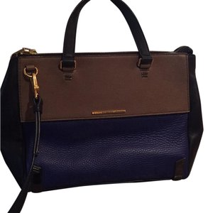 Marc by Marc Jacobs Satchel in Grey/Taupe/Blue