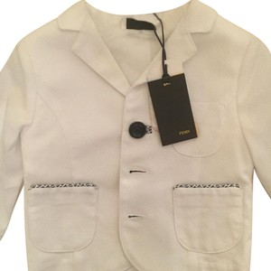 Fendi White Blazer